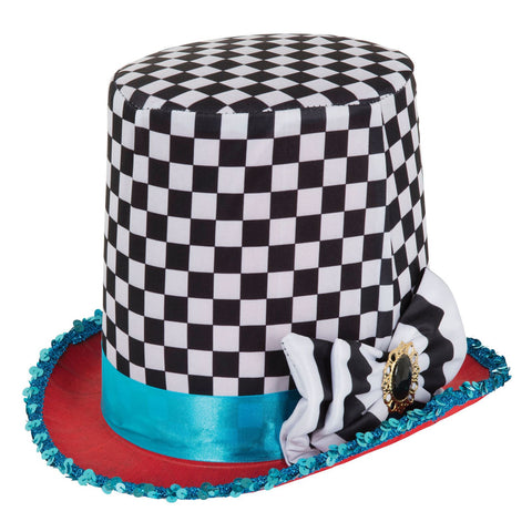 CHEQUERED TOP HAT