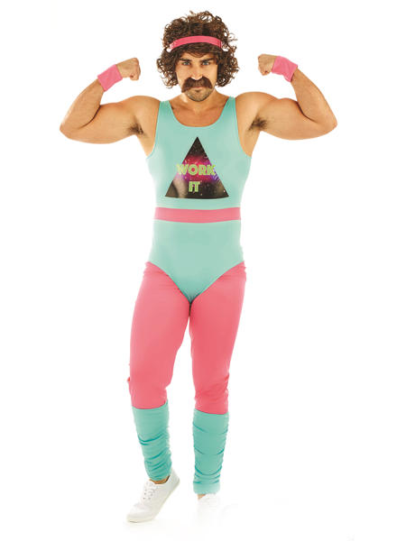 80's Fitness Instructor Costume