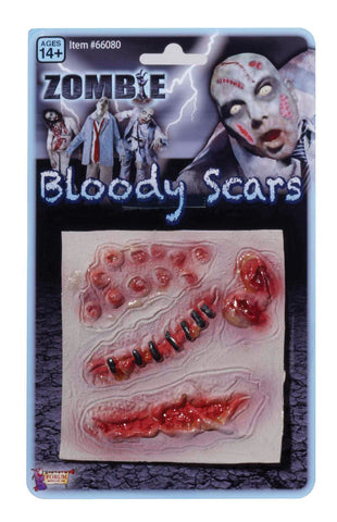 Zombie Assorted Scars