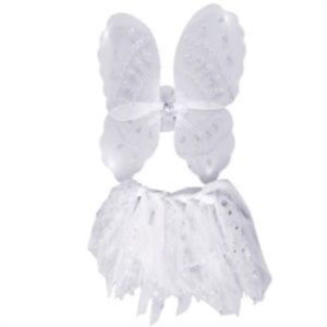 Angel Wings And Tutu Set