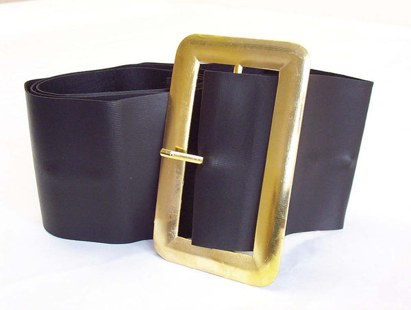Santa/Pirate Belt With Gold Buckle
