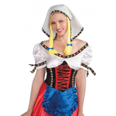 Oktoberfest Headpiece With Pigtails