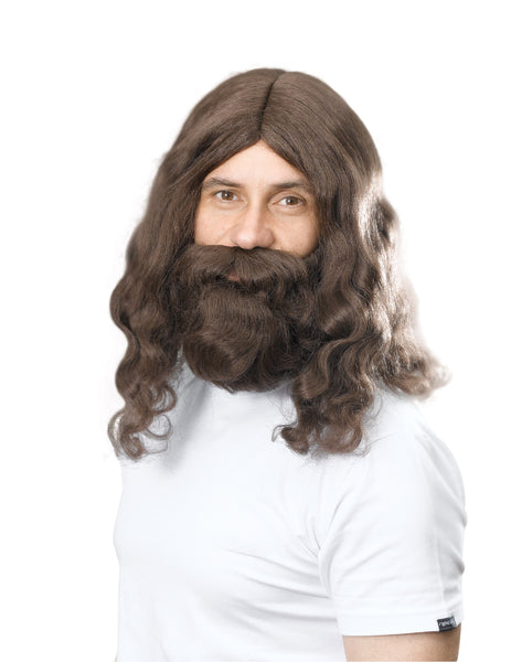Hippy Wig & Beard Set