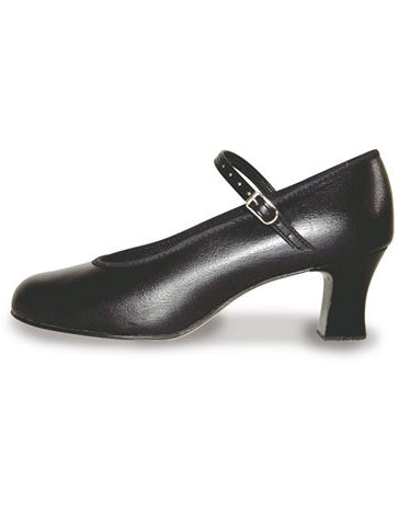 Roch Valley Black Character Shoes 2.5 inch (GIGI)