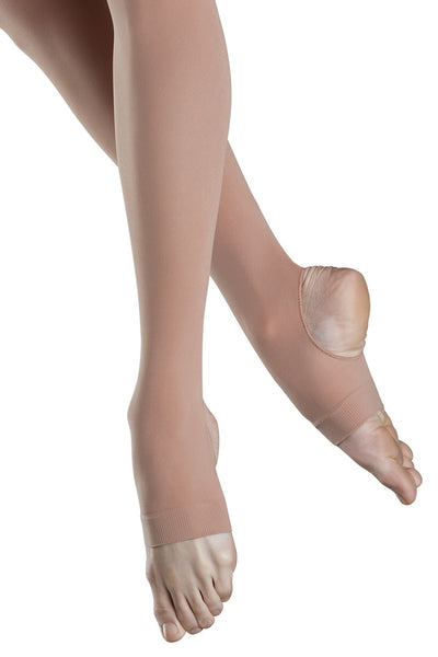 Capezio Ladies Stirrup Tights (Light Tan)