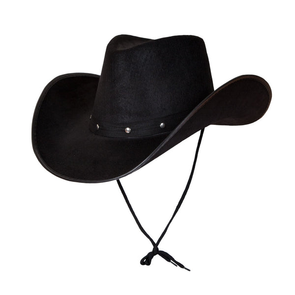 Black Texan Cowboy Hat