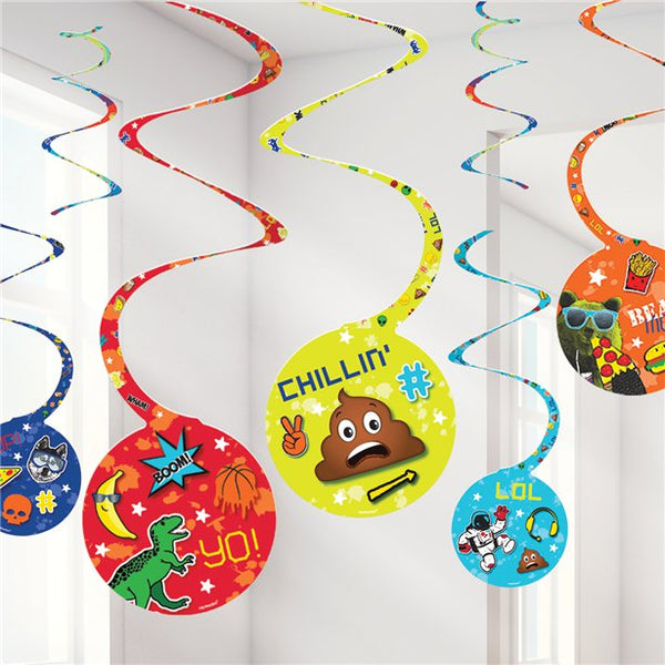 Hanging Spiral Decorations