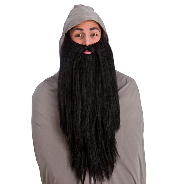 Deluxe Black Long Beard
