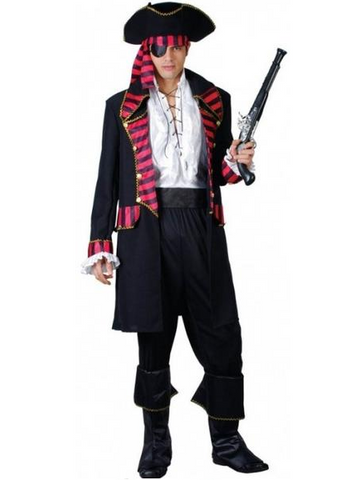 Deluxe Pirate Captain Costume