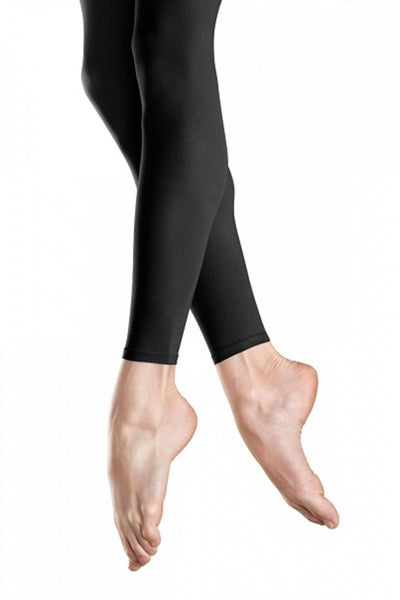 Capezio Ladies Footless Tights (Black)