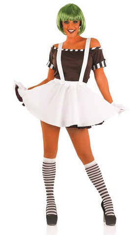 Sexy Factory Worker Dress Costume