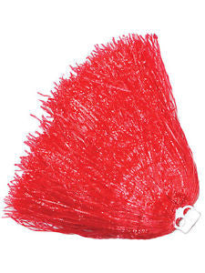 Jumbo Red Cheerleader Pom Pom