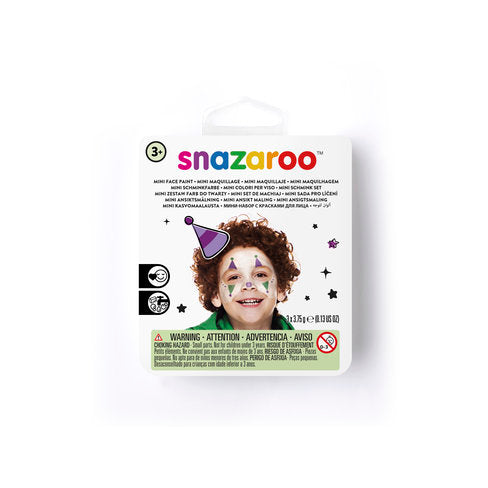 SNAZAROO JESTER MINI FACE PAINTNG KIT