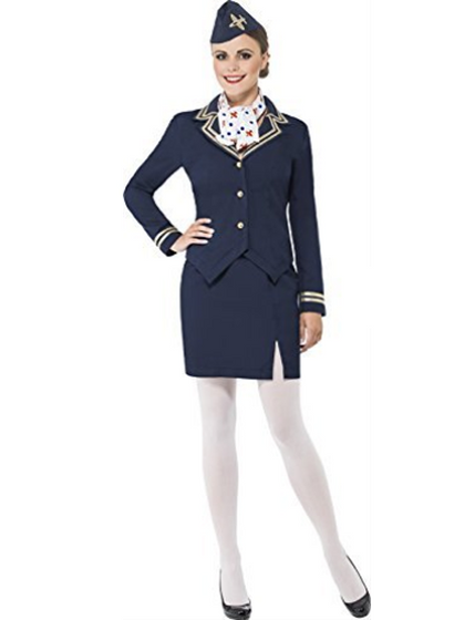 Ladies Airways Attendant/Hostess Costume