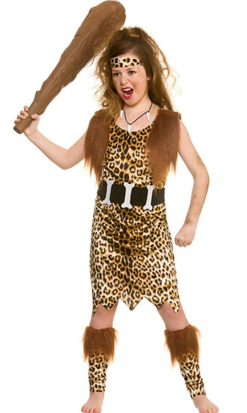 Stone Age Cave Girl Costume
