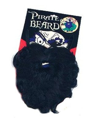 Pirate Beard Black