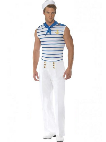 Men's French Sailor Costume