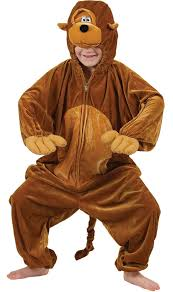 Monkey Funky Jungle Kids Costume
