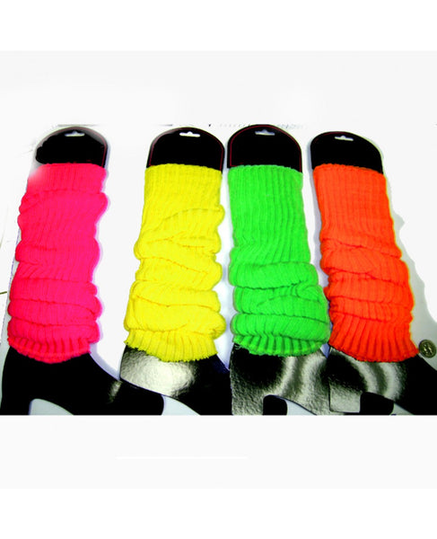 Neon Leg Warmers (available in Green, Pink, Orange and Yellow)