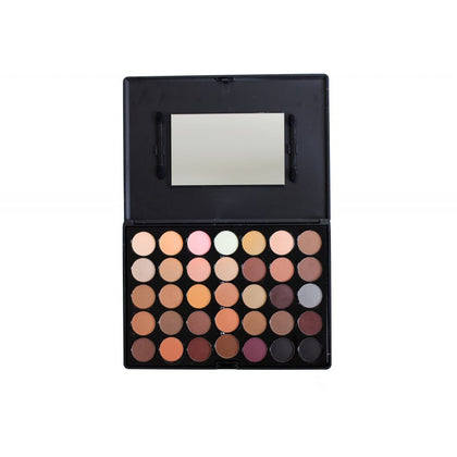 Crown Brushes Neutral Eyeshadow Palette 35 Colours