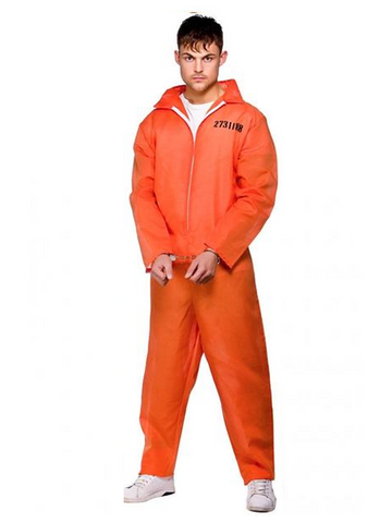 Orange Convict Costume