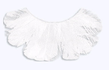 Kryolan Feather Eyelashes White