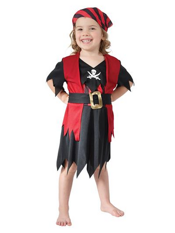 Pirate Girl Toddler Costume