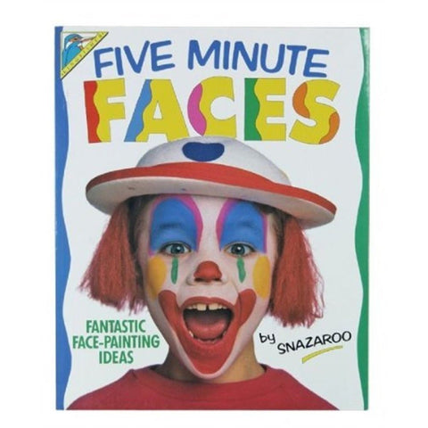 SNAZAROO FIVE MINUTE FACES BOOK