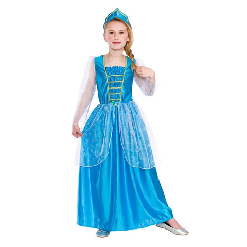 Ice Blue Princess Costume