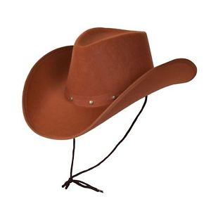 Brown Texan Cowboy Hat