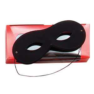 Small Black Rayon Mask