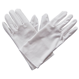White Gent's Gloves