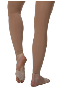 Bloch Ladies Endura Footless Tights (Light Tan)