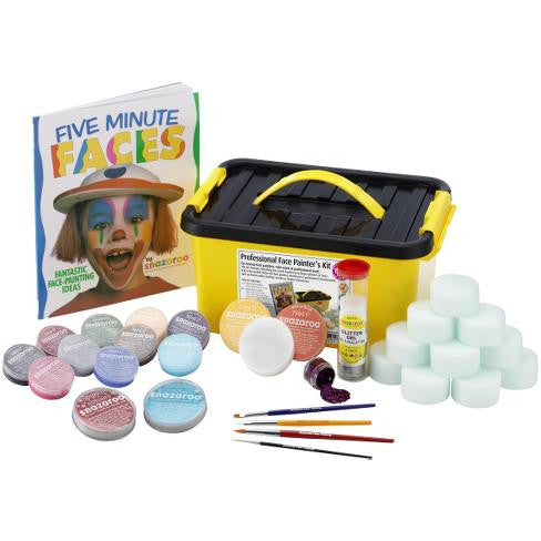 SNAZAROO PROFESSIONAL FACE PAINTER'S KIT