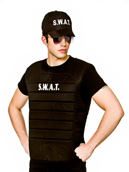 S.W.A.T Vest And Hat