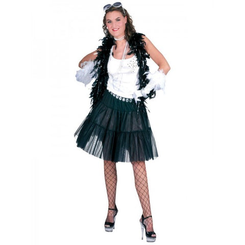 Black Long Petticoat