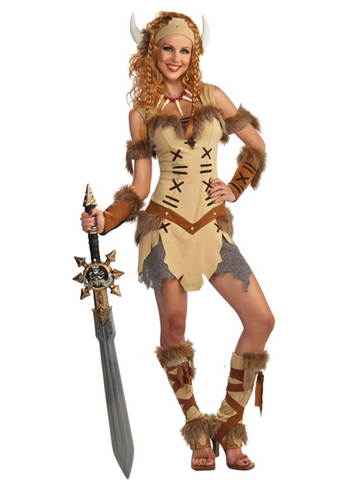 VIKING PRINCESS Woman's Costume
