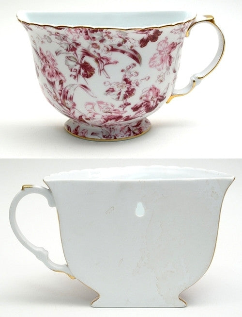 Tea Cup Wall Pocket