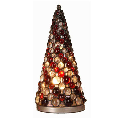 Cabochon Christmas Tree Lamp