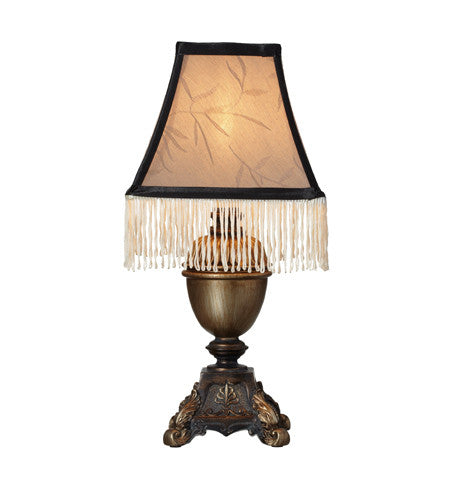 Accent Lamp with Fringe