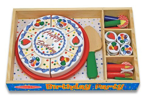 Happy Birthday Party Cake by Melissa and Doug. Item number 511.