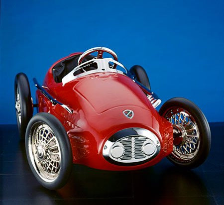 American Retro Red Racer Pedal Car