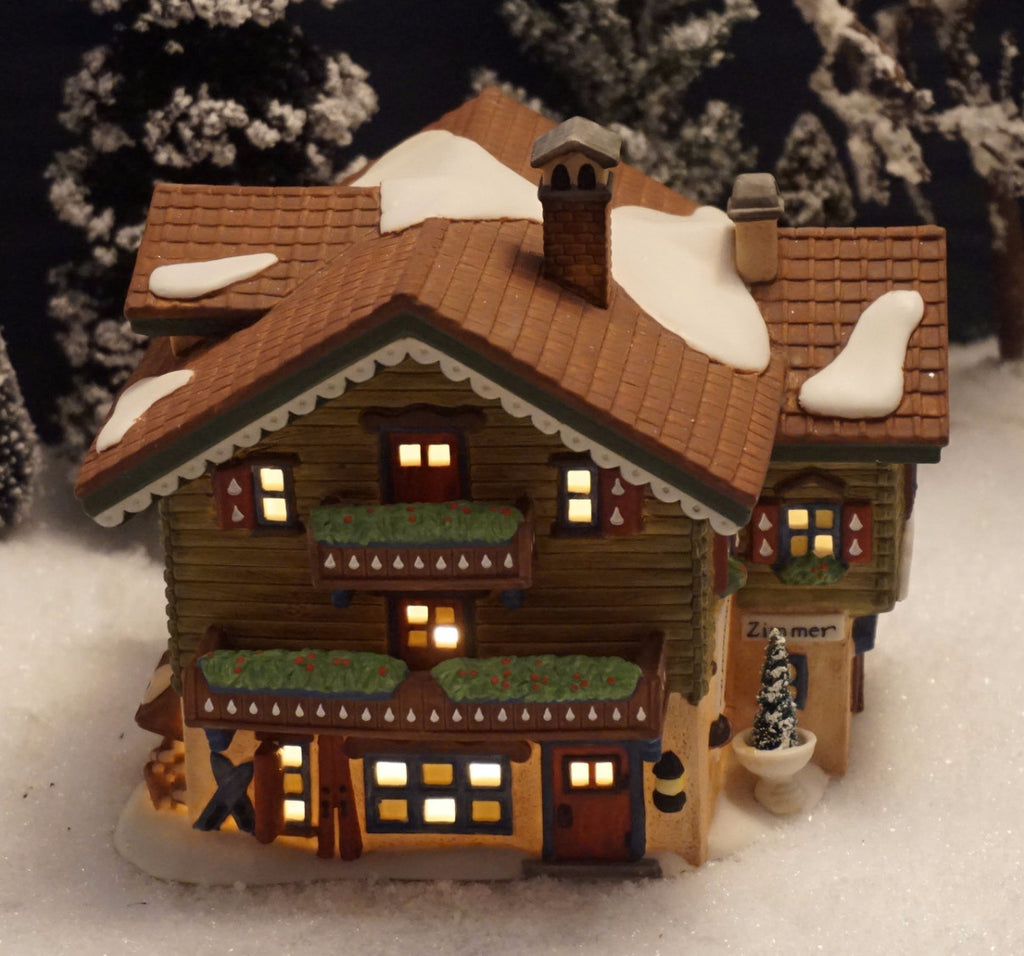 Department 56 Alpine Village Series - Sport Laden. Item number 56120.