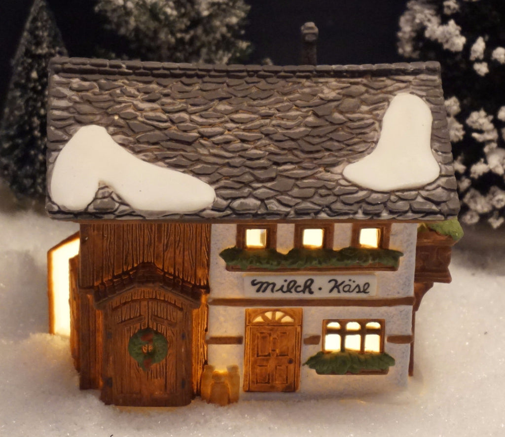 Department 56 Alpine Village Series - Milch-Kase. Item number 65404.