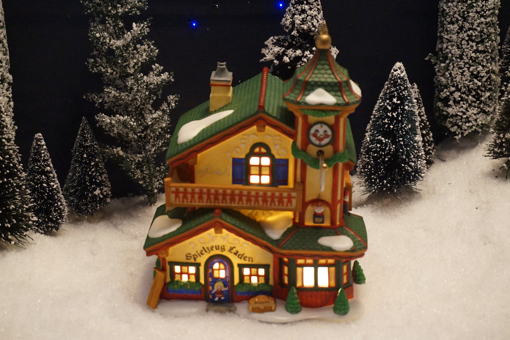 Department 56 Alpine Village Series - Spielzeug Laden. Item number 56192.