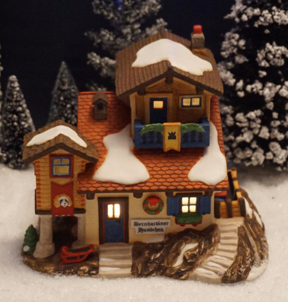 Department 56 Alpine Village Series - Bernhardiner Hundchen - Item number 56174