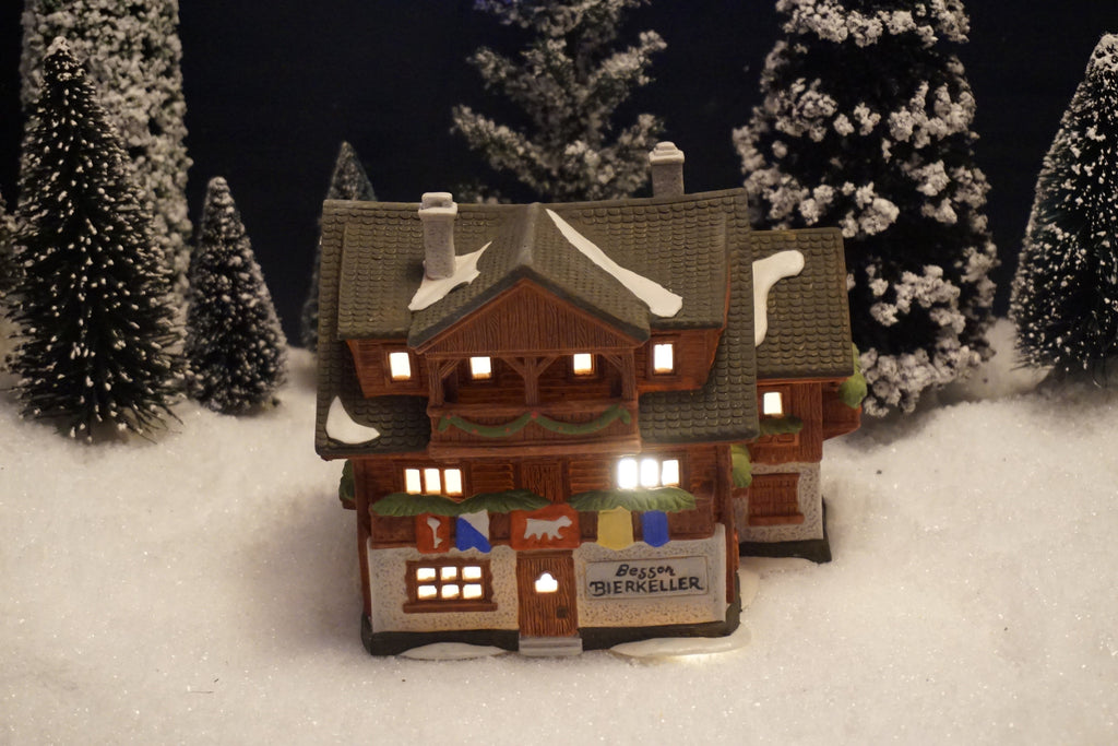 Department 56 Alpine Village Series - Besson Bierkeller. Item number 65404