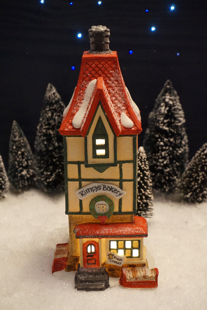 Department 56 North Pole Series - Rimpy's Bakery. Item number 56219.