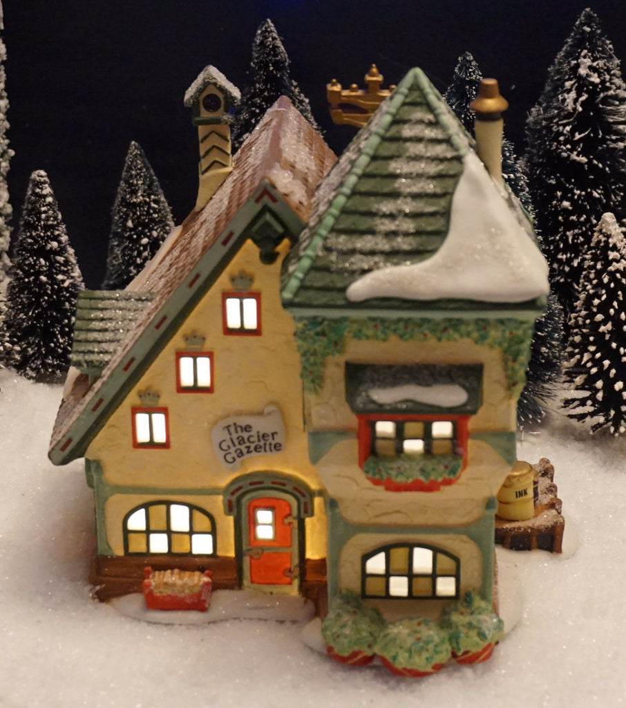 Department 56 North Pole Series - The Glacier Gazette. Item number 56394.