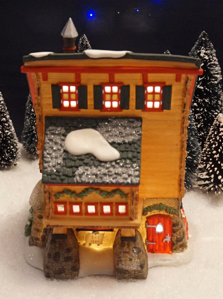 Department 56 North Pole Series - Elves' Trade School. Item number 56387.